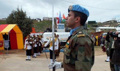 نائب وزير الدفاع الكازاخستاني زار مواقع الكتيبة الهندية في جنوب لبنان