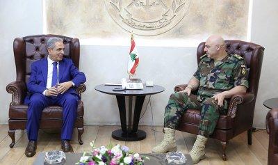 قائد الجيش استقبل عبد العزيز وحبيش ووفدا من المحافظين