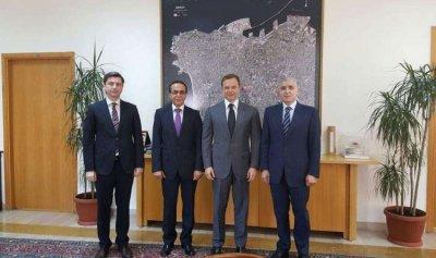 عيتاني التقى نائب رئيس بلدية موسكو