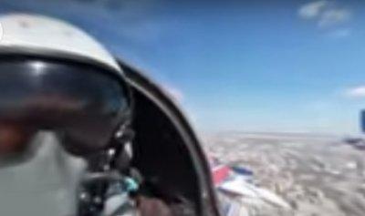 """فيديو بتقنية 360 درجة: شاهدوا تحليق المقاتلات الروسية من فريقي """"ستريجي"""""""
