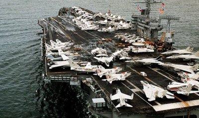 حاملة طائرات أميركية ثالثة إلى سواحل كوريا الشمالية