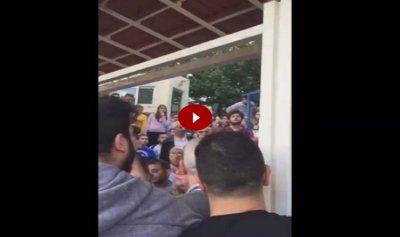 """خاص بالفيديو: إشكال بين شبان من """"حزب الله"""" و""""القوات"""" في اليسوعية"""