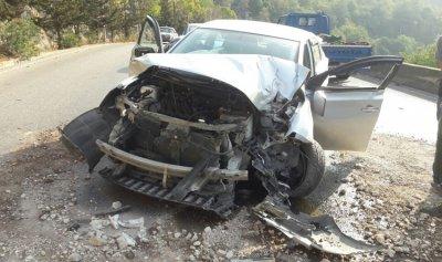 مقتل شخص بإصطدام سيارته بعمود كهرباء في الشوف