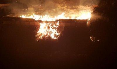 محامي آل حواط نفى ان يكون حريق الشركة مفتعلا