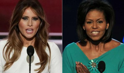 """ميلانيا وميشال.. اختلاف """"مالي"""" داخل البيت الأبيض"""