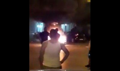 خاص – بالفيديو: إشكال بين الغبيري والشياح – عين الرمانة… وحرق دراجات نارية