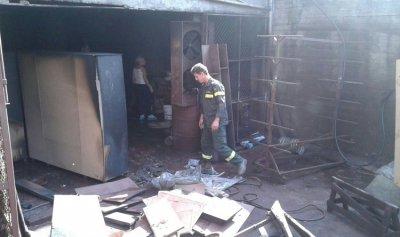 حريق في منشرة أخشاب في الشيخطابا ولا إصابات