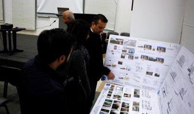 معرض لطلاب جامعة الروح القدس تضمن دراسات للبيوت التراثيّة في بلدة ريفون