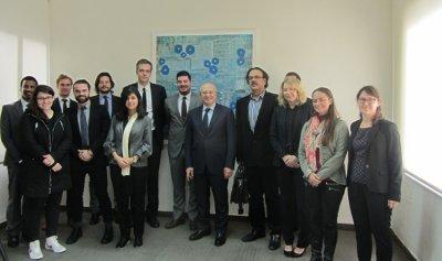 """وزير الثقافة عرض الاوضاع مع وفد مركز """"ميدست واير"""" للابحاث"""