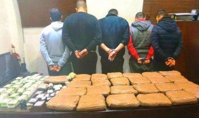 عصابة ترويج مخدرات في قبضة قوى الأمن