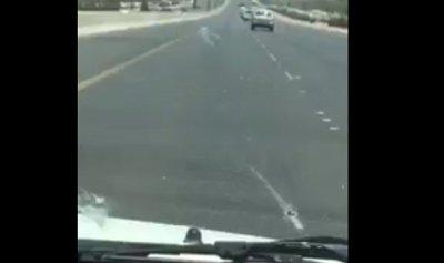 """سيارة """"مجنونة وأغبى حادث"""""""