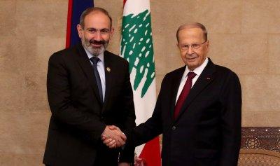 باشينيان في بعبدا مؤكدا دعم ارمينيا لإستقرار لبنان