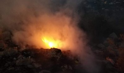 احترق داخل حديقة منزله في الشرقية