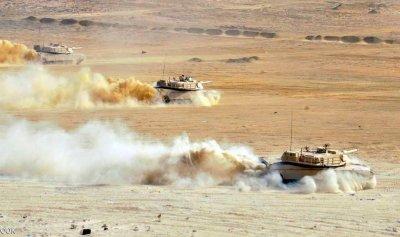 """مناورات """"درع العرب1"""" في مصر"""