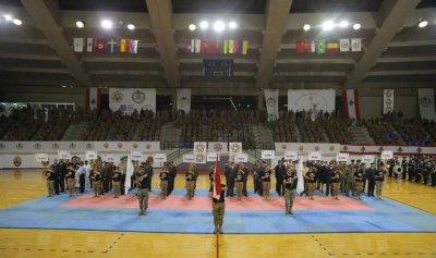 بالصور: افتتاح بطولة العالم العسكرية الـ50 للماراثون