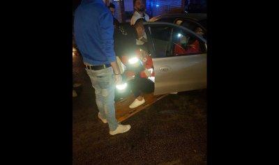 بالصور: 3 جرحى بحادث سير في الصالومي
