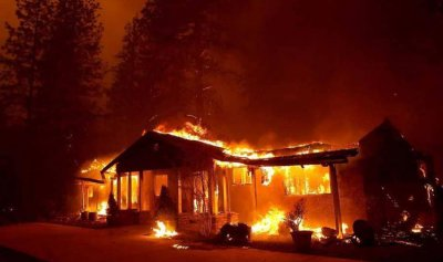 رياح الشيطان تشعل كاليفورنيا!