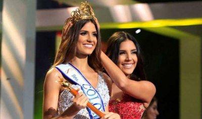 لبنانية تتربع على عرش جمال كولومبيا