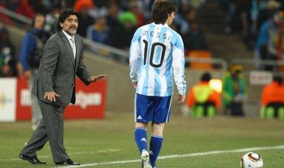 مارادونا يكشف سراً عن ميسّي