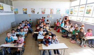 المدارس تستقبل أعلى نسبة من التلاميذ اللاجئين