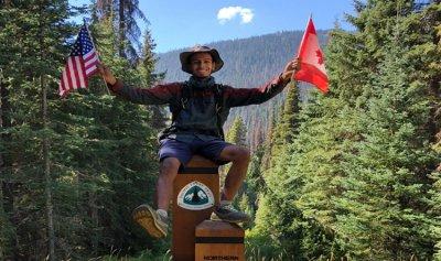 سعودي يمشي 4 آلاف كيلومتر من المكسيك إلى كندا!