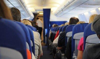 الصوت الخطير في الطائرة