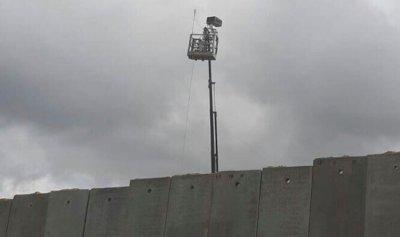 منطاد إسرائيلي للمراقبة في العباسية