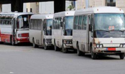تجمع مالكي وسائقي الباصات العمومية في جبيل