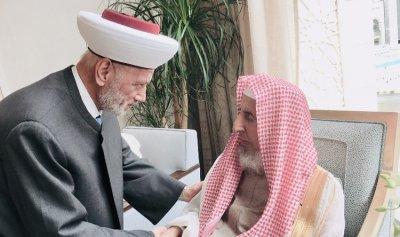 دريان: لتعزيز العلاقات مع دار الإفتاء السعودي