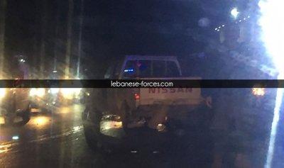 بالصور: حادث سير مروع في عجلتون