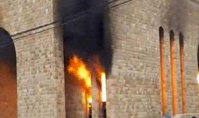 بعد حريق الكنيسة… بلدية بعبدات توضح
