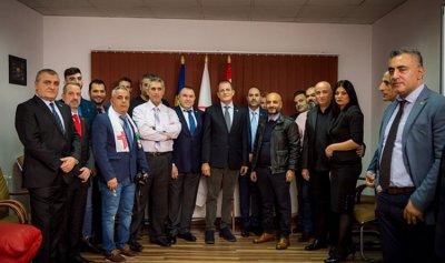 """السويدي في رومانيا لإفتتاح مركز """"القوات"""" – بوخارست"""