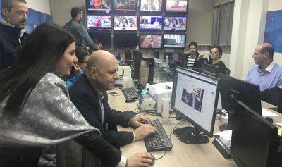 """بالصور: حاصباني في مطبخ """"القوات"""" التحريري"""