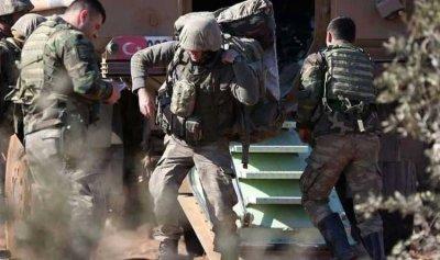 الجيش التركي ينذر مدنيين في عفرين بالمغادرة