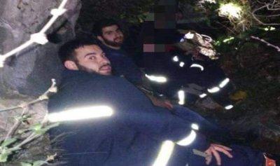 الدفاع المدني انقذ شابين ضلا طريقهما في أحراج غدراس كسروان