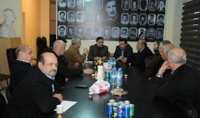 """وفد من """"حزب الله"""" زار """"التقدمي"""" في حاصبيا والبحث تناول سبل التعاون لمساعدة أبناء المنطقة"""