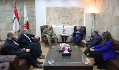 قائد الجيش استقبل وفدا من برلمان الاتحاد الأوروبي وهيئات