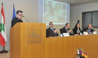 مؤتمر عن القانون التجاري في جامعة الروح القدس