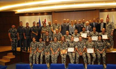"""""""الأمن العام"""": حفل تخريج وتوزيع شهادات على عدد من الضباط والعسكريين"""