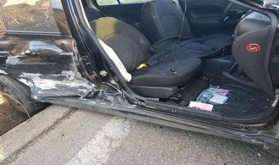 بالصور: جريحان في حادث سير مروّع في حراجل