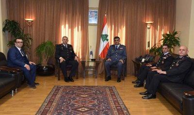 عثمان عرض الاوضاع مع سفيرة النمسا