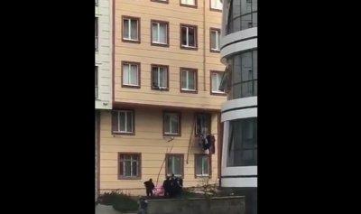 بالفيديو: محاولة إنتحار… وعملية إنقاذ
