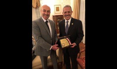 اللواء صليبا يزور سفير لبنان لدى واشنطن