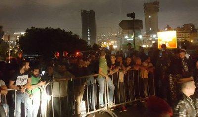 """اعتصام لشباب """"الكتائب"""" امام المديرية العامة لقوى الأمن الداخلي احتجاجا على توقيف حداد"""