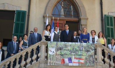 السفير الفرنسي زار مدرسة البزنسون في بيروت