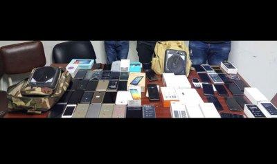 توقيف 3 سوريين بجرم سرقة محلات لبيع الاجهزة الخلوية