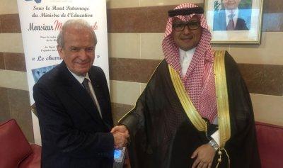 حماده بحث وبخاري في التعاون التربوي مع السعودية