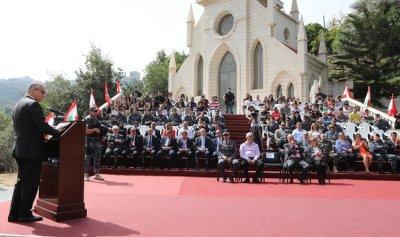 """مناورة للأمن الداخلي بمؤازرة طوافة للجيش اللبناني في الـ""""LCU"""" – عينطورة"""
