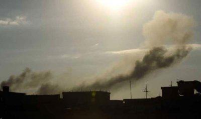 غارة مجهولة تستهدف معسكرًا في ليبيا