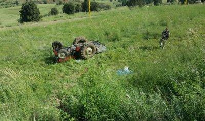 انقلاب جرار زراعي في بلدة عكارية ومقتل سائقه